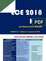 JORNADA DE ORIENTACIÓN - ECE 2018