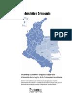 Orinoquia Initiative Summary 6-24-2018_Spanish