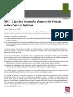 RT NIC 10 Hechos Ocurridos Después del Período que se Informa.pdf