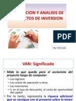 Diapos Evaluación y Análisis en Los Proyectos de Inversión Mg F Ayala