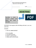 Teaching Adjectives