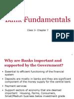 Bank Fundamentals-class 3