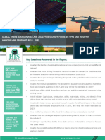 Drone Data Services and Analytics Market Analysis (2018-2023)