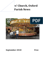 St Giles Church , Oxford September 2018 Parish News