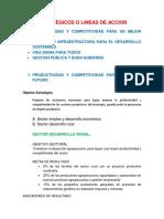 Plan de Desarrollo 2012