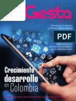 Boletín Gesta Edición No 14 - Boletín del Departamento de Ciencias Administrativas del ITM