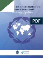 Chile actor del sistema multilateral una tradición nacional (1)