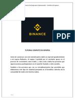 Binance exchange - Tutorial completo - By Semillero de Ingresos.pdf
