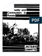 Community and Communism in Russia - Jacques Camatte