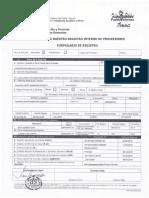 Formulario de Registro - INAC