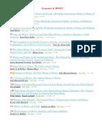 Economics & MONEY BookList 01