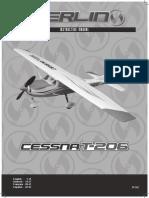 cessna 206 aeromodelo