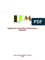 English for LBM | White Blood Cell | Chromatography