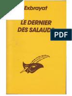 Dernier Des Salauds, Le - Exbrayat, Charles