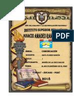 El Multilinguismo en El Peru Monografia.