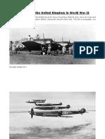 Lista de Aviones Britanicos de La n World War II