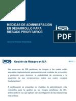 2013 02 04 Principales Medidas de Administracion Para Riesgos Prioritarios