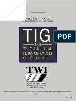 Welding Titanium Handbook