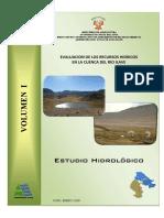 Estudio Hidrológico Cuenca Río Ilave 2008 - Texto