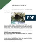 Petrografi Batuan Sedimen Karbonat.docx