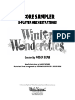 Winter Wonderettes Score Sample