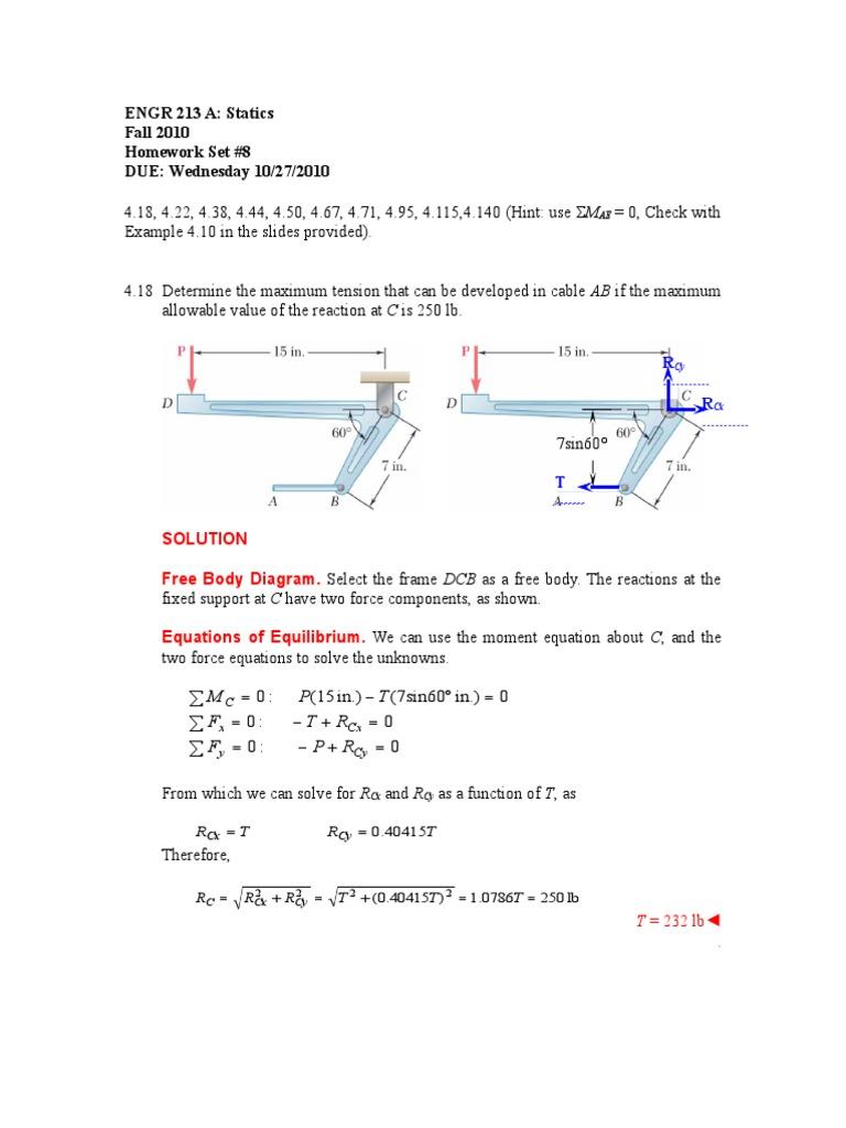 Hw03 Ch04 Rigid Body Equations Sine Diagram Example