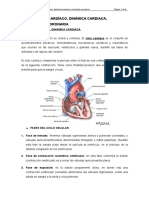 Tema II. Ciclo Cardiaco, Dinámica Cardiaca, Circulación Coronaria