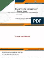 EMSE IEM Course Notes 8