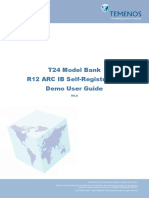 R12 Model Bank ARC IB Self Registration Demo User Guide