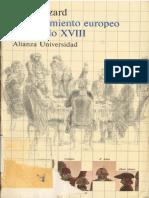 HAZARD PAUL. El Pensamiento Europeo en El Siglo XVIII