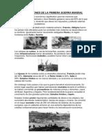 Repercuciones de La Primera Guerra Mundial