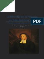 La Filosofia de La Historia de Giambatti