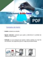 4.0 Titulaciones Ácido-Base 2S 2018