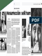 2010 01 03 Lanacion Resurreccion Selknam
