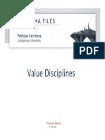 Value Disciplines Model (Modelo Basado en El Valor)