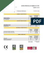 Technical Form CEM II BL 32.5 N-December 2016