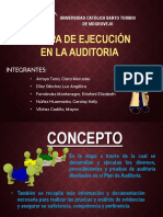 Exposicion-etapa de Ejecucion en La Auditoria