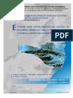 Panorama Dos Recursos Hidricos de Santa Catarina