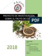 Proyecto - Planta de hinojo