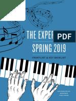 The Experiment Spring 2019 Catalog