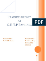 Training Report ghtp