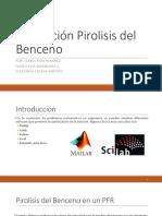 Pirolisis del benceno Matlab y Scilab.pptx