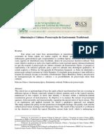 Alimentacao e Cultura Preservacao da Gastronomia Tradicional.pdf