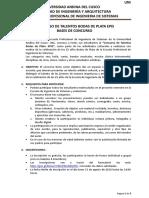 Bases Consurso de Talento Bodas de Plata-EPIS