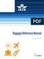 IATA Baggage Reference Manual 2018