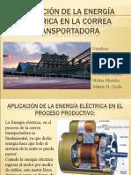 Aplicación de la energía eléctrica en la Correa