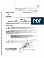 Michael Kuldiner v. Nick Burkholder - Order