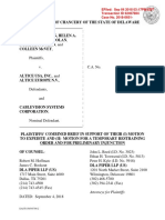 Brief ISO Motion to Expedite, for TRO, and for Preliminary Injunction