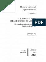 GRIMAL, Pierre, Historia Universal Siglo XXI - Volumen 7 - La Formación Del Imperio Romano - El Mundo Mediterraneo en La Edad Antigua III
