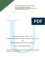 Unidad 2 Variable Aleatoria y Distribuciones de Probabilidad